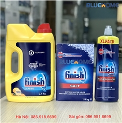 Combo : Bột Finish Classic 2,5kg + Muối Finish 1.5kg + Bóng Finish 750ml
