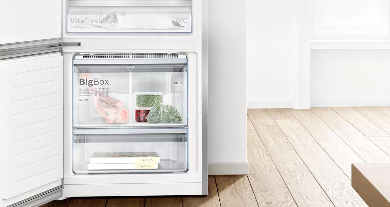 SuperFreezing: bảo vệ thực phẩm đông lạnh trước.