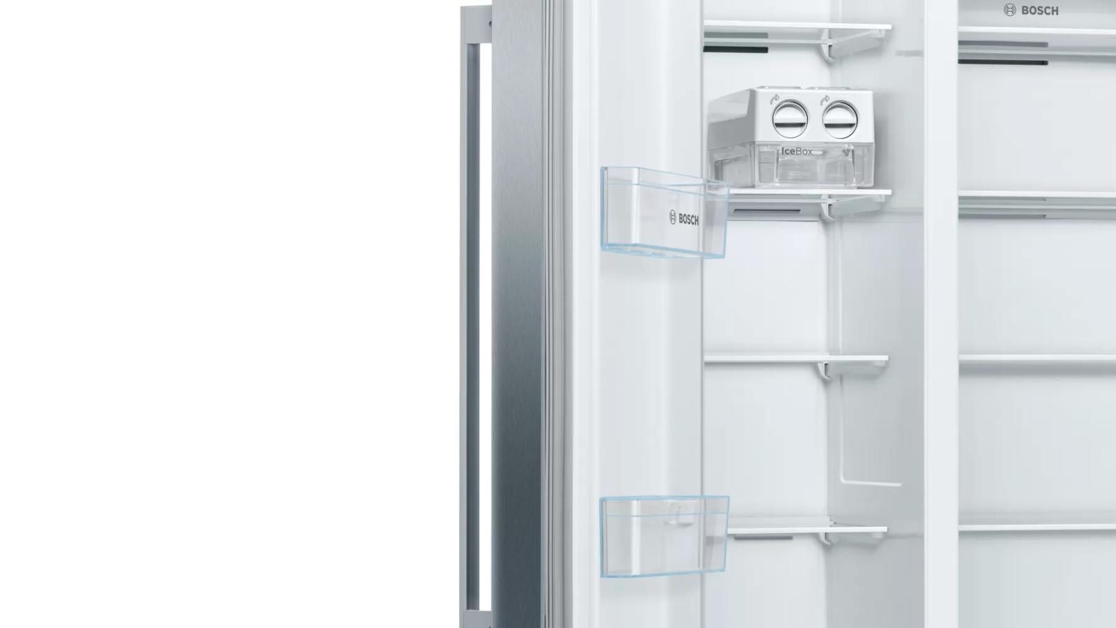 Hoàn toàn linh hoạt trong khu vực tủ đông.