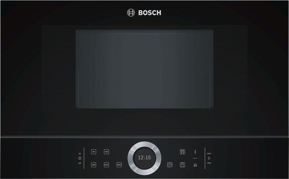 Lò Vi Sóng Bosch BFL634GB1, Bosch BFL634GB1 Thiết Kế Đơn Giản Dễ Dùng